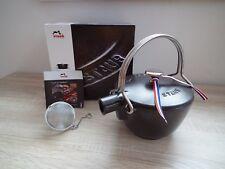STAUB Gusseisen Teekanne Teekessel Wasserkessel Teapot 1,15 l Schwarz NEU