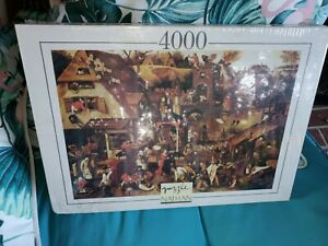 New in plastic Nathan Puzzle - 4000 Piece Les Proverbs