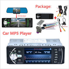 "4.1"" HD 1DIN Car Stereo Video MP3 MP5 Player Bluetooth FM Radio AUX USB & Camera"