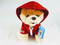 "Gund World's Cutest Dog Boo Red Jacket Stuffed Animal Plush 9"""