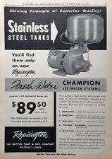 1955 AD(G15)~DAYTON PUMP & MFG. CO. FRESH WATER JET SYSTEMS