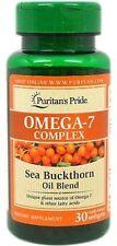 Omega-7 Complex Sea Buckthorn Oil Blend x 30 Softgels - 24HR DISPATCH