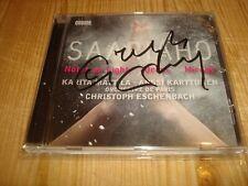 CHRISTOPH ESCHENBACH Saariaho Notes on Light ONDINE CD NEW Signed NEU Signiert