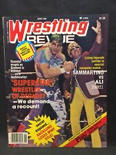 Wrestling Revue Magazine June 1980 WWE WWF WCW NWA AWA Pro Illustrated