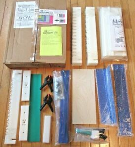 Woodline U.S.A. Route-R-Joint Dovetail System & WOW Spacer Fence System NIB