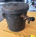 Vintage Galvanized Beer Ice Cooler Barrel Keg Coiled Still - Rochester NY