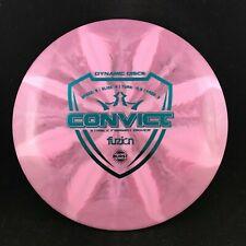 Dynamic Discs Fuzion Burst Convict Driver Disc Golf Disc 170g