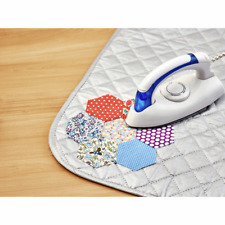 Sew Easy Steam Iron 700W with Non-Stick Sole Plate and Quilted Ironing Mat
