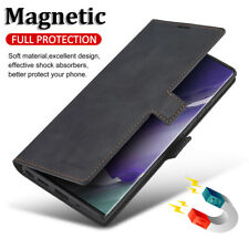 Leather Case For Samsung Galaxy Note 20 Ultra 10 Plus 9 Magnetic Wallet Cover