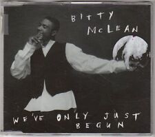 (EX555) Bitty McLean, We've Only Just Begun - 1995 CD