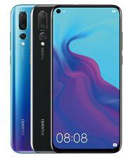 "Huawei Nova 4 VCE-L22 128GB 8GB RAM (FACTORY UNLOCKED) 6.4"" Black Blue"