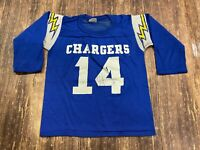 VTG Dan Fouts San Diego Chargers Rawlings NFL Football Jersey - Youth Medium