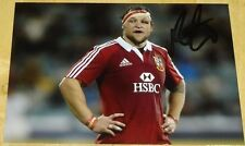 RYAN GRANT BRITISH LIONS RUGBY HAND SIGNED AUTOGRAPH PHOTO