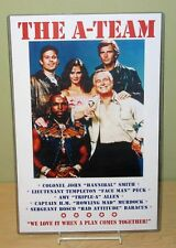 """THE A-TEAM """"Plan Comes Together"""" 11x17 Poster"""