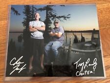 History Channel Swamp People Hand Signed 8x10 Photo Troy Landry
