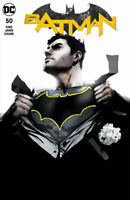 Batman #50 Forbidden Planet/ Jetpack Exclusive Jock Variant NM  Black and White