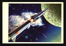 Space Postcard - Early Russian Cartoon PPC (III) - L532