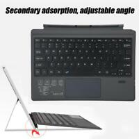 Wireless BT Magnetic Replacement Slim Laptop Keyboard For MS Surface pro3/4/5 BS