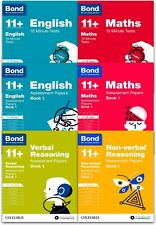 Bond 11+ English & Maths 6 Books Set Ages 11-12+ Assessment and Tests