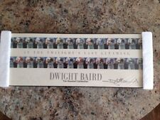 Dwight Baird Signed Laminated At Twilight's Last Gleaming Baseball Lithograph