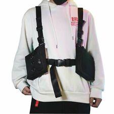 West Hip Hop Streetwear Men Functional Waist Packs Bag Adjustable Man Tactical