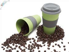 Magu Kaffeebecher To Go 330ml - Coffee To Go Becher grün - Thermobecher Natur