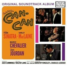 CD CAN-CAN ORIGINAL FILM SOUNDTRACK SINATRA MACLAINE CHEVALIER JOURDAN LET'S DO