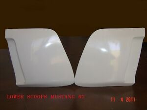 1967-1968 FORD MUSTANG ELEANOR LOWER SCOOPS