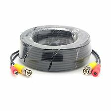 5m BNC Video DC Power Supply Extension Cable Lead For CCTV Security Camera DVR