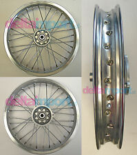 Cerchio anteriore 14' a raggi pitbike minicross (KTM) front wheel ricambio
