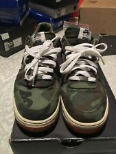 NDS NIKE x SUPREME AIR FORCE 1 LOW PREMIUM 08 NRG Green Camo 573488-330 sz 10.5