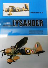 Warpaint Series No.48 - Westland Lysander            40 Pages          Book