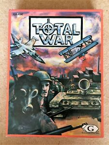 Total War, Gamesmiths Inc, unpunched, complete, excellent condition