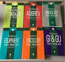 Stedman's Equip Abbrev Orthopedic Rehab Radiology Oncology GI GU LOT 3rd 2nd Ed.