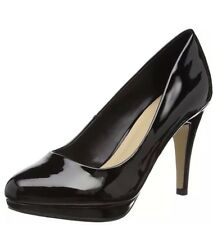 Aldo Vulture Women's Platform PUMPS Black (black Patent / 95) 38 EU 5 UK