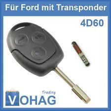 Ford Chiavi Anello & Transponder 3 Tasten Fiesta Focus Fusion Mondeo 3T Puma