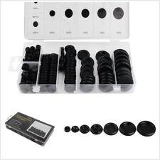 170 Pcs 7 Size Black Universal Car Rubber Grommet Firewall Hole Plug Wire Gasket
