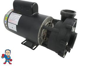 "LX Pump Spa Hot Tub 56Fr Intertek 2"" X 2"" 2.0HP 2 Speed 230V WUA Video How To"