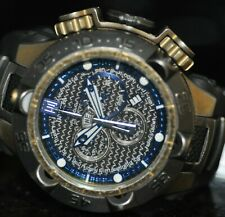 Invicta Mens Rare Jason Taylor Swiss Reserve Chrono Black Dial Poly Watch 17107