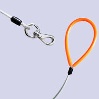 Steel Wire Anti-bite Pet Dog Traction Rope Walking Lead Leash Strap Durable Cold