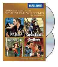 FLYNN,ERROL-Tcm Greatest Classic Legends Collection: Errol Flynn  DVD NEW