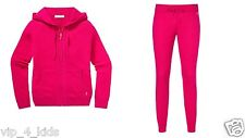 """JUICY COUTURE ORIGINAL Track Jacket and Slim Pants in COZY """"CASHMERE"""" XS"""