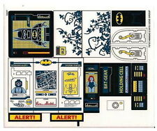 STICKERS Lego Batman 6860 The Batcave Stickers Only NEW Original