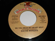 """DAVID ROGERS They Went Together 45 Do You Hear My Heart Beat REP-006 Republic 7"""""""