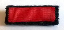 Placard rappel de chevalier de la Légion d'honneur avec ses crochets au revers.