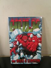 Hulk: Red & Green Vol 2 Loeb Cho Marvel Comics Hc Hard Cover Brand New Sealed~