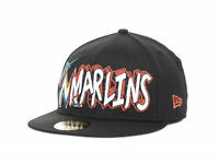 "Miami Marlins New Era 59FIFTY MLB ""The Ice"" Men's Fitted Cap Hat - Size: 7 1/4"