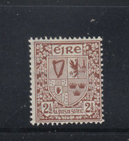 Ireland 1940-1942 2 1/2 d Coat of Arms Sc 110  VLH