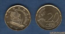 Chypre 2017 20 Centimes D'Euro SUP SPL Pièce neuve de rouleau - Cyprus