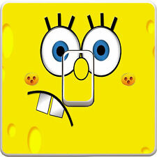 Spongebob Square Pants Light Switch Vinyl Sticker Decal for Kids Bedroom #104